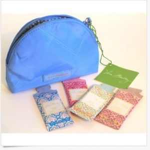Preppy Poly Mini Sky Bue Cosmetic Bag Plus++ Sampl